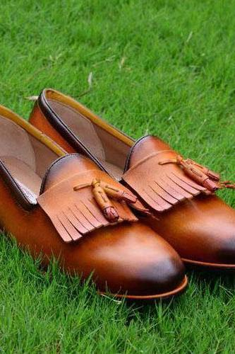 Handmade high quality cowhide leather men's oxford shoes, formal shoes, men shoes